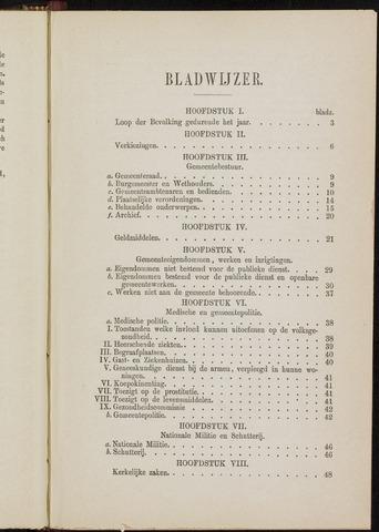 Breda - Verslagen van de toestand van de gemeente 1870