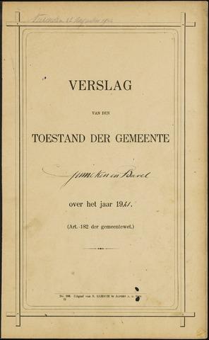 Ginneken en Bavel - Verslagen van de toestand van de gemeente 1921