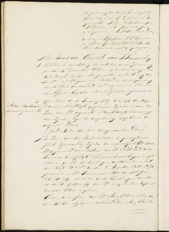Princenhage - Notulen van de gemeenteraad 1827