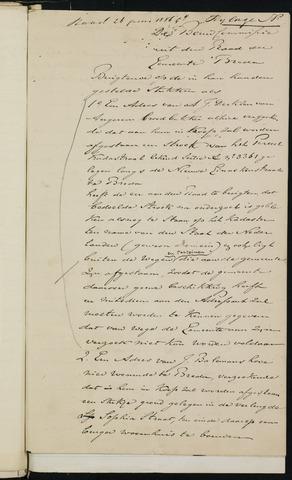 Breda - Bijlagen bij de notulen van de gemeenteraad 1886
