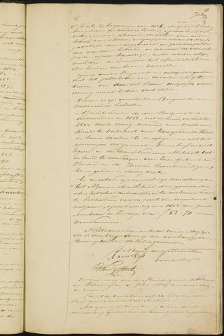 Teteringen - Notulen en bijlagen van de gemeenteraad 1854