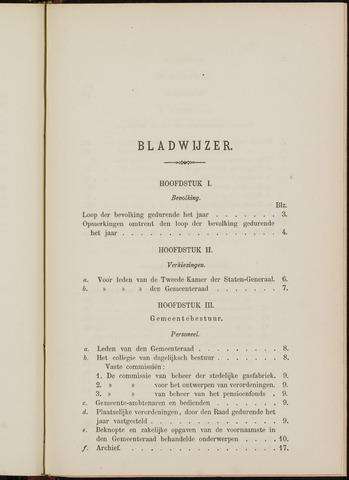Breda - Verslagen van de toestand van de gemeente 1875-01-01