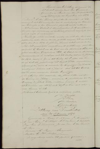 Ginneken en Bavel - Notulen van de gemeenteraad 1875-01-01