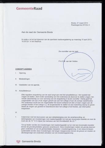 Breda - Bijlagen bij de notulen van de gemeenteraad 2013-04-15