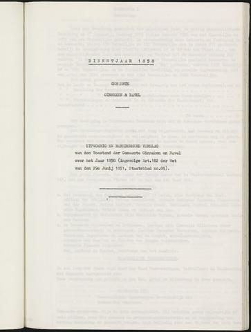 Ginneken en Bavel - Verslagen van de toestand van de gemeente 1858
