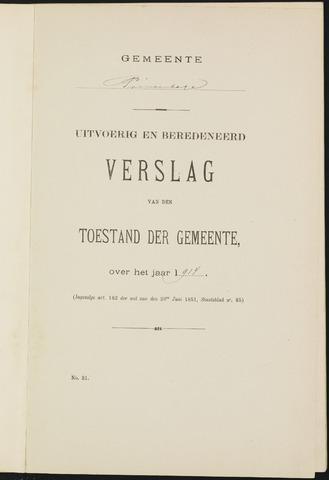 Princenhage - Verslagen van de toestand van de gemeente 1914