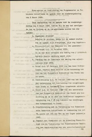 Ginneken en Bavel - Bijlagen bij de notulen van de gemeenteraad 1929