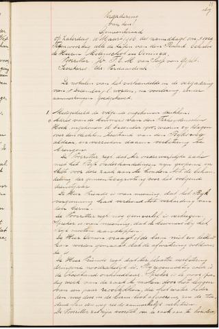 Teteringen - Notulen en bijlagen van de gemeenteraad 1906