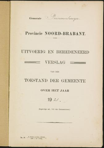 Princenhage - Verslagen van de toestand van de gemeente 1921