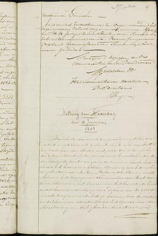 Ginneken en Bavel - Notulen van de gemeenteraad 1831-01-01
