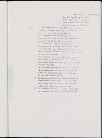 Breda - Verslagen van de toestand van de gemeente 1822-01-01
