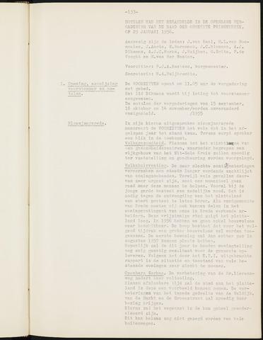 Prinsenbeek - Notulen van de gemeenteraad 1956