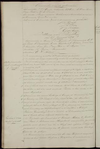 Ginneken en Bavel - Notulen van de gemeenteraad 1876-01-01