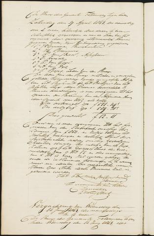 Teteringen - Notulen en bijlagen van de gemeenteraad 1843-01-01