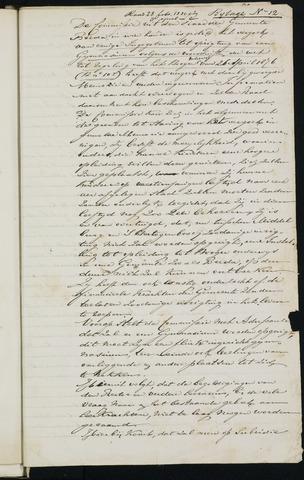 Breda - Bijlagen bij de notulen van de gemeenteraad 1880