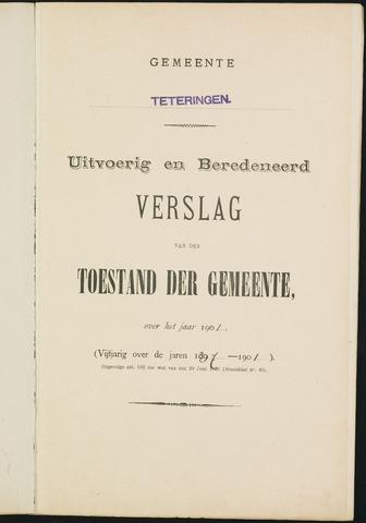 Teteringen - Verslagen van de toestand van de gemeente 1901