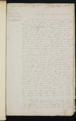 Breda - Bijlagen bij de notulen van de gemeenteraad 1867