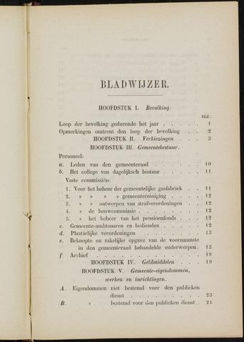 Breda - Verslagen van de toestand van de gemeente 1883-01-01