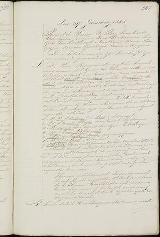Breda - Notulen van de gemeenteraad 1848-01-01
