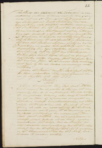 Teteringen - Notulen en bijlagen van de gemeenteraad 1823