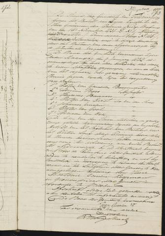 Teteringen - Notulen en bijlagen van de gemeenteraad 1832