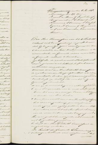 Princenhage - Notulen van de gemeenteraad 1842