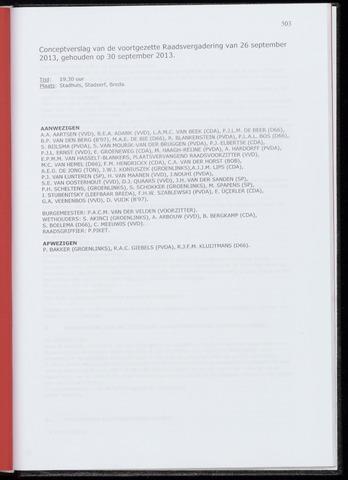 Breda - Notulen van de gemeenteraad 2013-09-30
