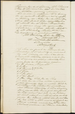 Teteringen - Notulen en bijlagen van de gemeenteraad 1839