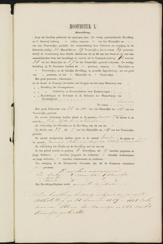 Teteringen - Verslagen van de toestand van de gemeente 1860