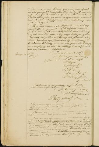 Teteringen - Notulen en bijlagen van de gemeenteraad 1852