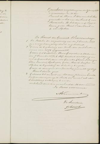 Princenhage - Notulen van de gemeenteraad 1872-01-01