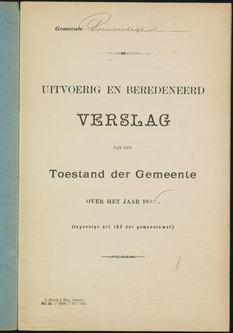 Princenhage - Verslagen van de toestand van de gemeente 1906-01-01