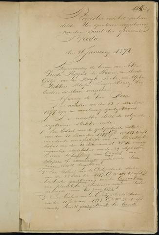 Breda - Notulen van de gemeenteraad 1878-01-01