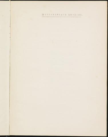 Prinsenbeek - Indexen op de notulen van de gemeenteraad 1950