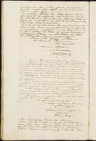 Teteringen - Notulen en bijlagen van de gemeenteraad 1848