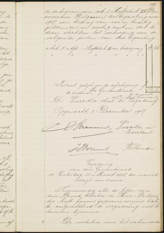 Teteringen - Notulen en bijlagen van de gemeenteraad 1918