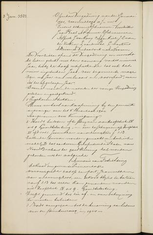 Princenhage - Notulen van de gemeenteraad 1901