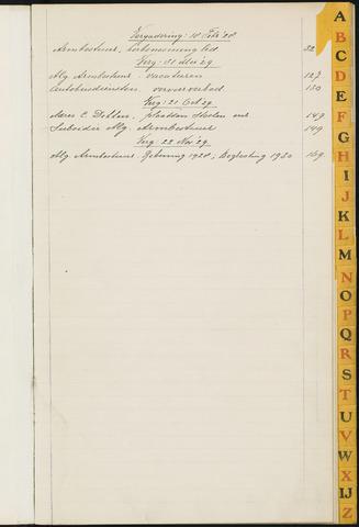 Princenhage - Indexen op de notulen van de gemeenteraad 1928-01-01