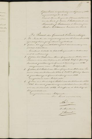 Princenhage - Notulen van de gemeenteraad 1865