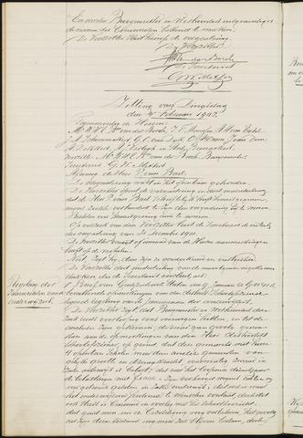 Ginneken en Bavel - Notulen van de gemeenteraad 1902-01-01