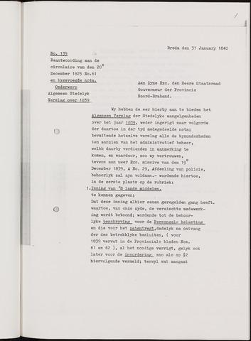 Breda - Verslagen van de toestand van de gemeente 1839-01-01