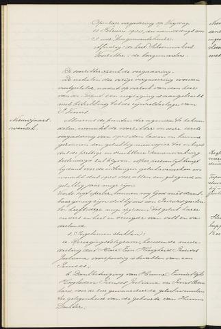 Princenhage - Notulen van de gemeenteraad 1938