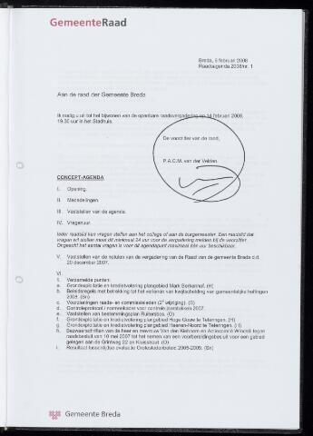 Breda - Bijlagen bij de notulen van de gemeenteraad 2008