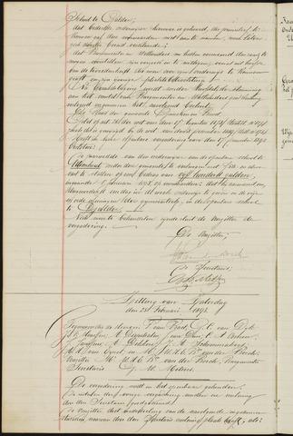 Ginneken en Bavel - Notulen van de gemeenteraad 1893-01-01