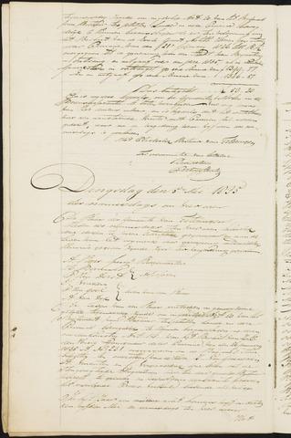 Teteringen - Notulen en bijlagen van de gemeenteraad 1835