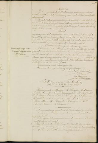 Ginneken en Bavel - Notulen van de gemeenteraad 1857-01-01