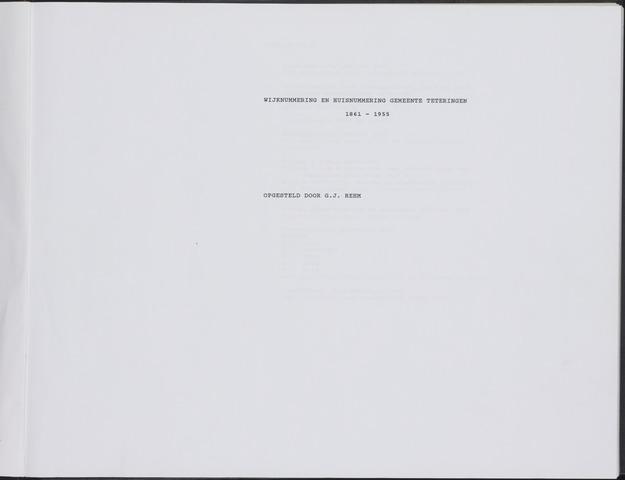 WHN - Teteringen 1861-1955 1861