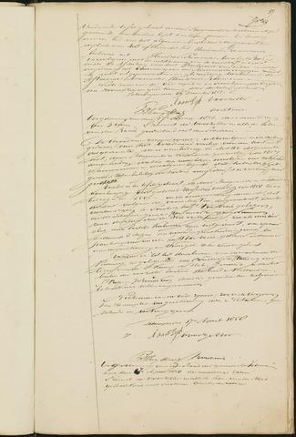 Teteringen - Notulen en bijlagen van de gemeenteraad 1858