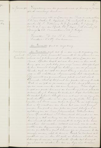 Ginneken en Bavel - Notulen van de gemeenteraad 1925-01-01