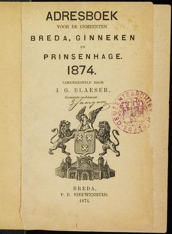 Adresboeken 1874-01-08